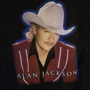 ALAN JACKSON 2001 TOUR T-SHIRT